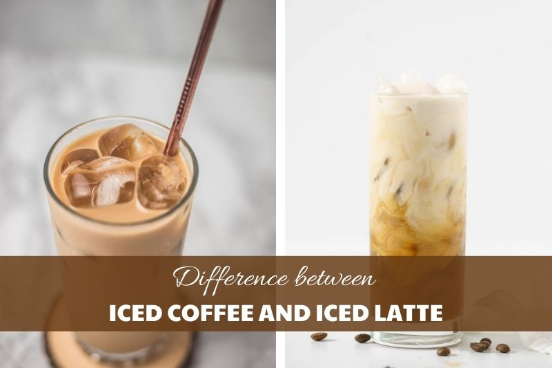 difference between iced coffee and iced latte2